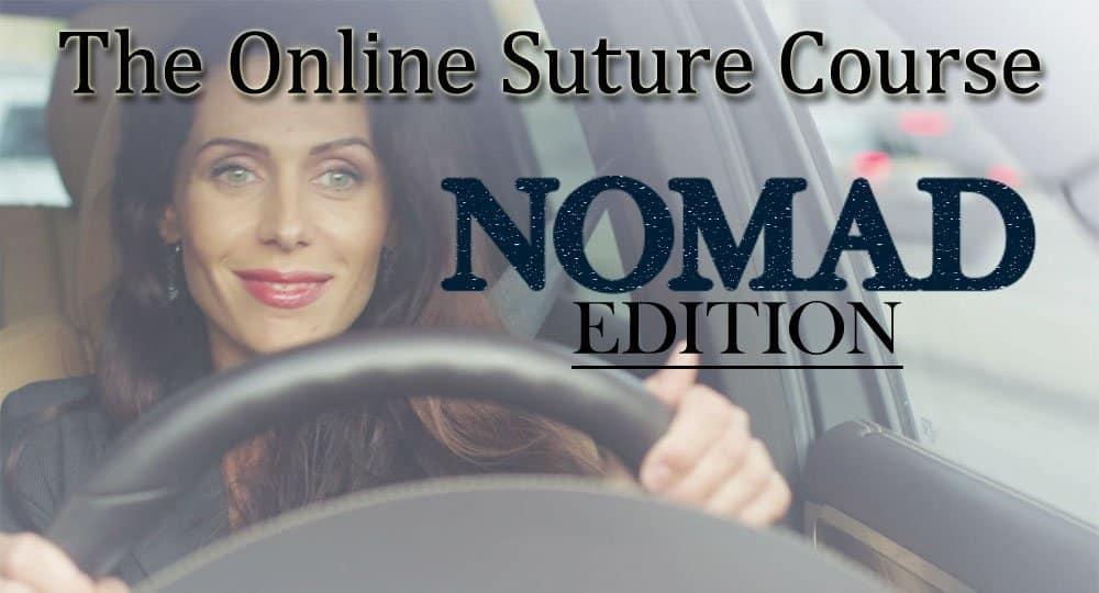 online suture course portable
